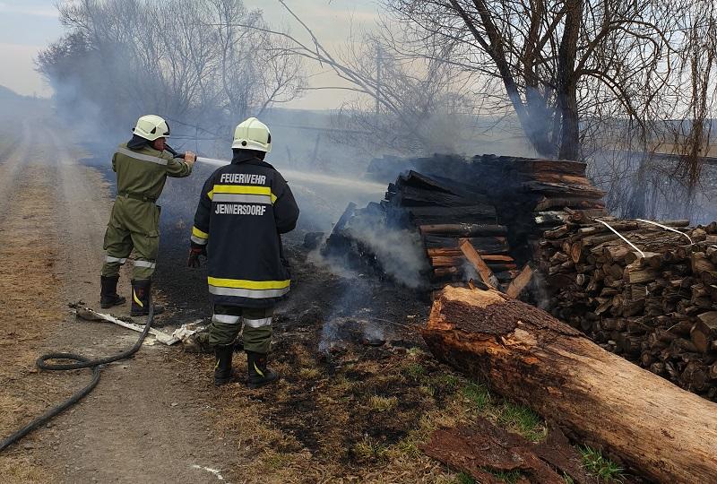 Flurbrand in Hohenbrugg an der...