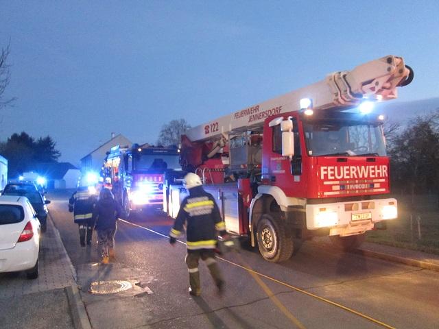 Wohnhausbrand in Eltendorf am 07....