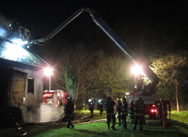 Gebäudebrand in Königsdorf am ...