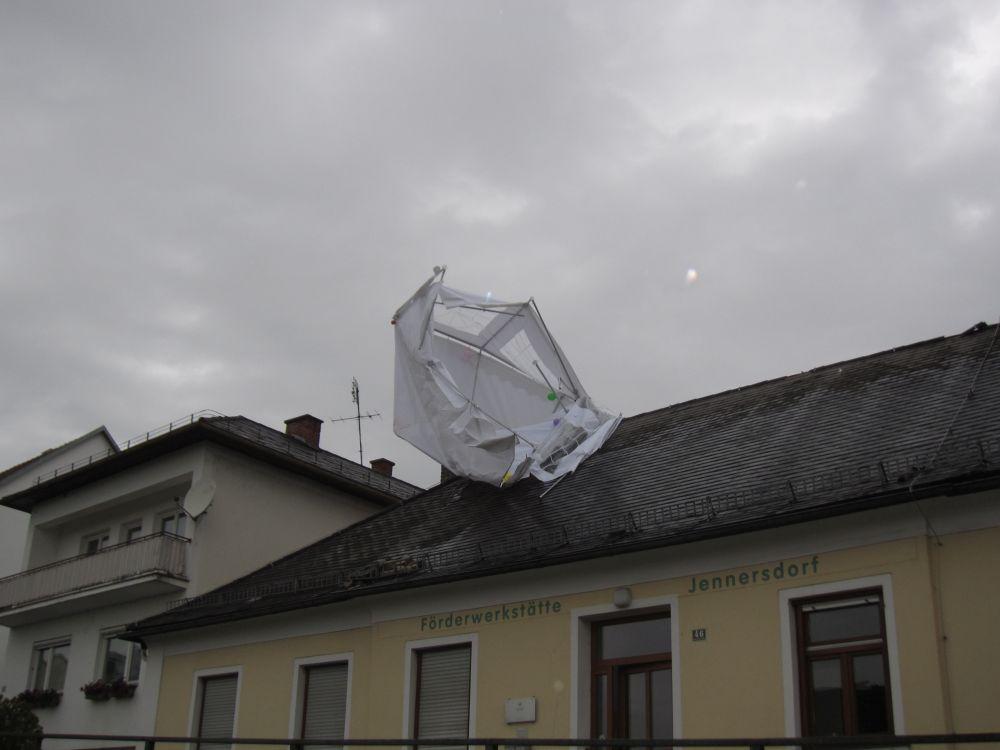 Sturmschaden bei der Förderwer...