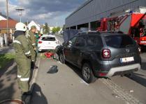 Aufsehenerregender Auffahrunfall in Jennersdorf_1