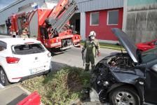 Aufsehenerregender Auffahrunfall in Jennersdorf_4