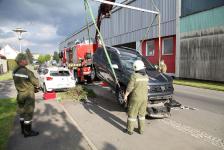 Aufsehenerregender Auffahrunfall in Jennersdorf_5