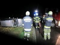 Eingeklemmter PKW-Lenker auf Umfahrungsstraße in Jennersdorf_18