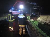 Eingeklemmter PKW-Lenker auf Umfahrungsstraße in Jennersdorf_26