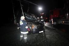 Eingeklemmter PKW-Lenker auf Umfahrungsstraße in Jennersdorf_29