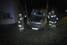 Eingeklemmter PKW-Lenker auf Umfahrungsstraße in Jennersdorf_30