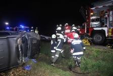 Eingeklemmter PKW-Lenker auf Umfahrungsstraße in Jennersdorf_9