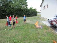 Kinder besuchten während Ferienbetreuung die Stadtfeuerwehr_10