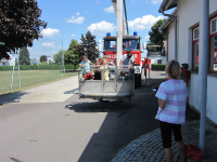 Kinder besuchten während Ferienbetreuung die Stadtfeuerwehr_12