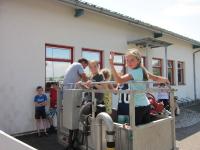 Kinder besuchten während Ferienbetreuung die Stadtfeuerwehr_13