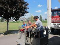 Kinder besuchten während Ferienbetreuung die Stadtfeuerwehr_14