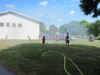 Kinder besuchten während Ferienbetreuung die Stadtfeuerwehr_23