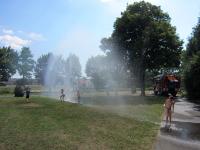 Kinder besuchten während Ferienbetreuung die Stadtfeuerwehr_24