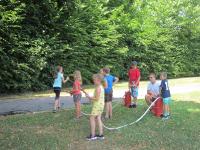 Kinder besuchten während Ferienbetreuung die Stadtfeuerwehr_3