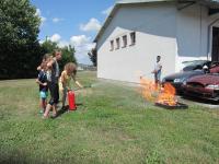 Kinder besuchten während Ferienbetreuung die Stadtfeuerwehr_5