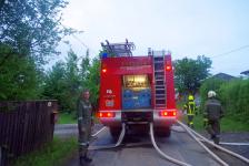 Rohbau geriet in Eisenberg an der Raab in Vollbrand_58