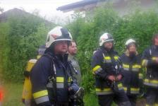 Rohbau geriet in Eisenberg an der Raab in Vollbrand_64
