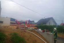 Rohbau geriet in Eisenberg an der Raab in Vollbrand_67