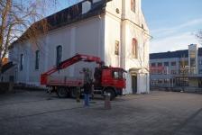 Stadtpfarrkirche Jennersdorf hat wieder funktionstüchtige Dachrinnen_1