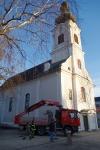 Stadtpfarrkirche Jennersdorf hat wieder funktionstüchtige Dachrinnen_3