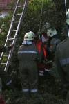 Zwei Personen aus Baumkrone gerettet_19