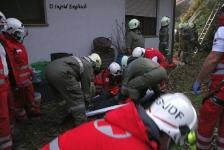 Zwei Personen aus Baumkrone gerettet_20