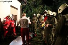 Zwei Personen aus Baumkrone gerettet_34
